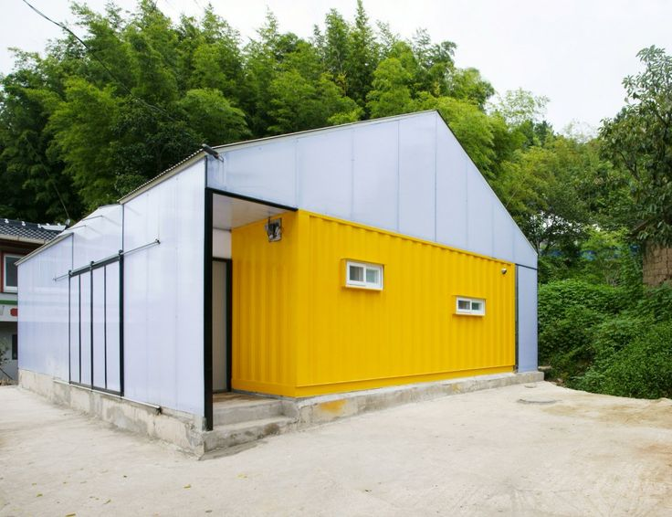 Low Cost Shipping Container House