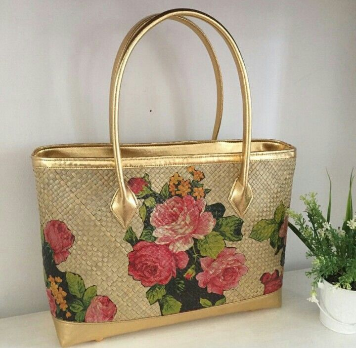 Saluang Painting - Woven Bag