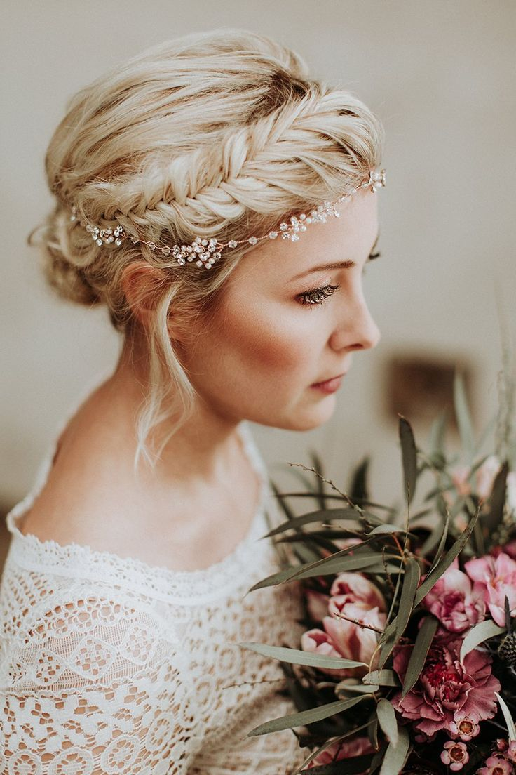 New bride hairstyles for long hair