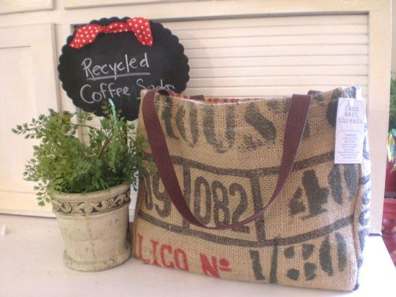 yes5Burlap Totes, Coffee Beans, Beans Sack, Bags Burlap, Drop, Burlap Ideas, Coffee Sack, Coffee Bags, Clothing Stencils