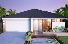 The Verve 15m frontage home design by Smart Homes for Living.