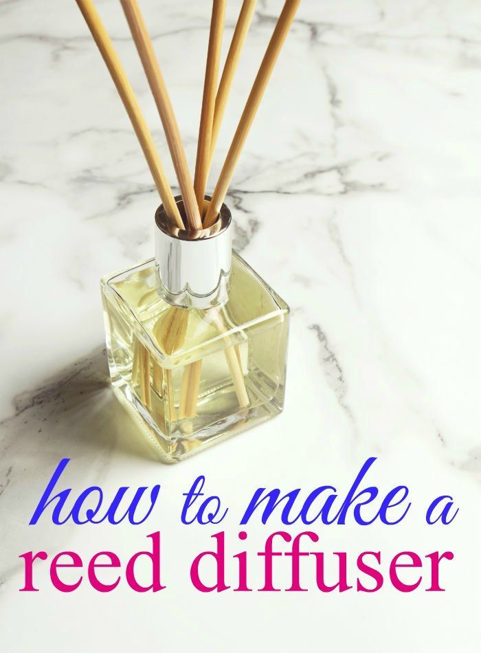 how to make a reed diffuser oil base