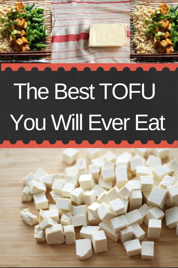 The Best Tofu You Will Ever Eat... guaranteed! If you haven't enjoyed tofu in the past, give this recipe a try. Tofu is an affordable source of protein and iron!