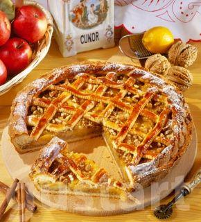 Receptek Lajos Mari konyhájából - Rácsos almatorta
