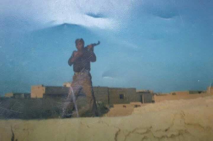 Iraq-iran war 1981 Iraqi army inside one of the iranian city Al-Mahammarah ,,,,that was my dad