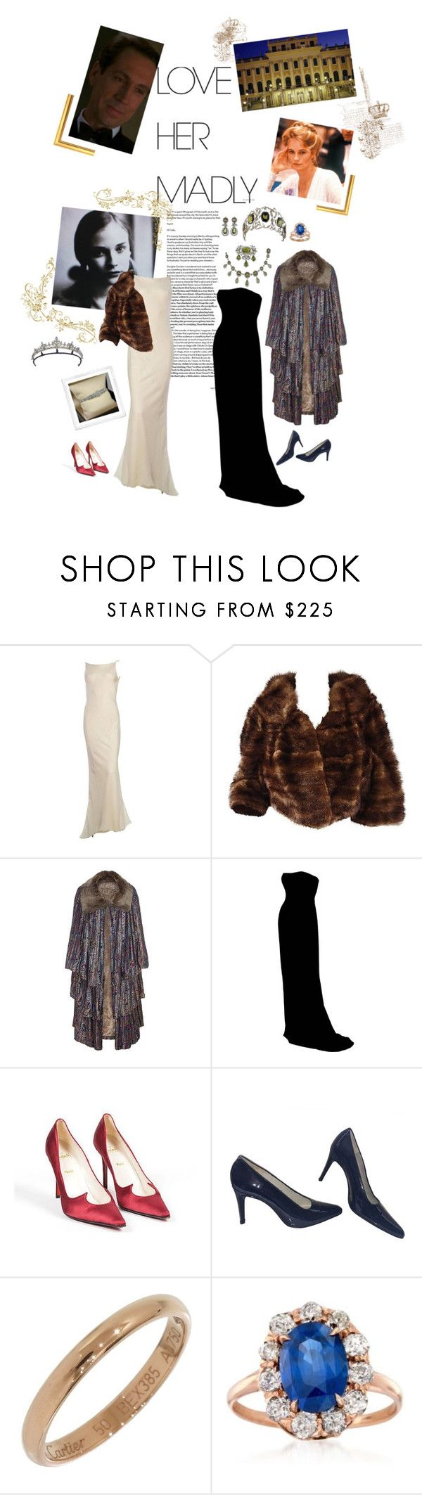 """""""(READ!!) FLASHBACK: To A Father Growing Older, Nothing Is Dearer Than A Daughter...."""" by vanessa-von-osterreich ❤ liked on Polyvore featuring Christian Louboutin, Carlos Falchi, Cartier and Ross-Simons"""