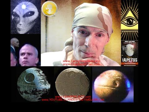 """Aliens on the Moon of Saturn, """"Iapetus"""", The Real Death Star Dr Courtney..."""