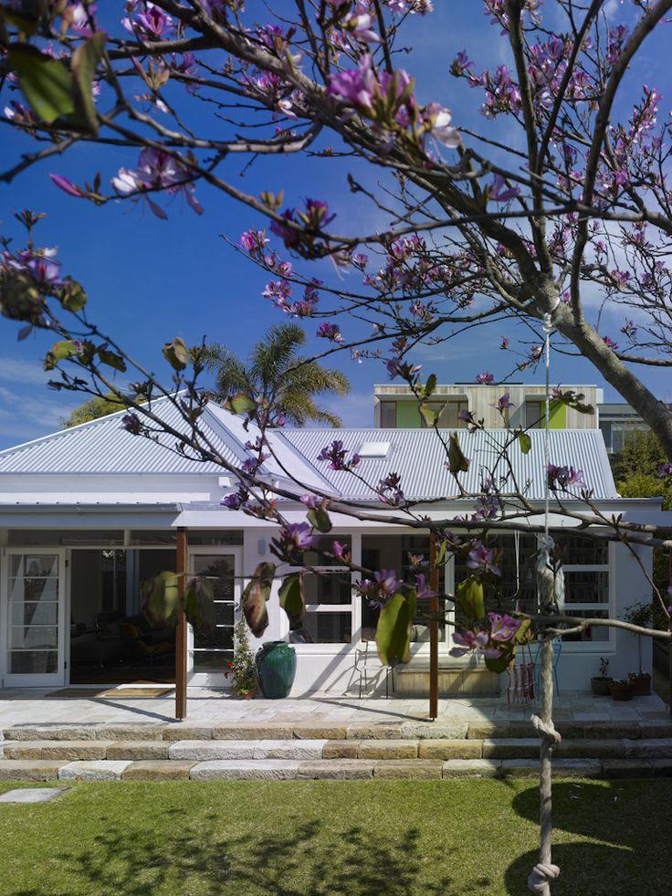 (c) Brett Boardman  Alterations and Additions, Architecture, Cottage, Bondi Beach, Sydney  http://www.samcrawfordarchitects.com.au/campbell-house-2/#