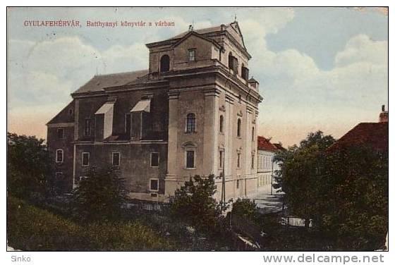 Alba Iulia - Biblioteca Batthyaneum - antebelica