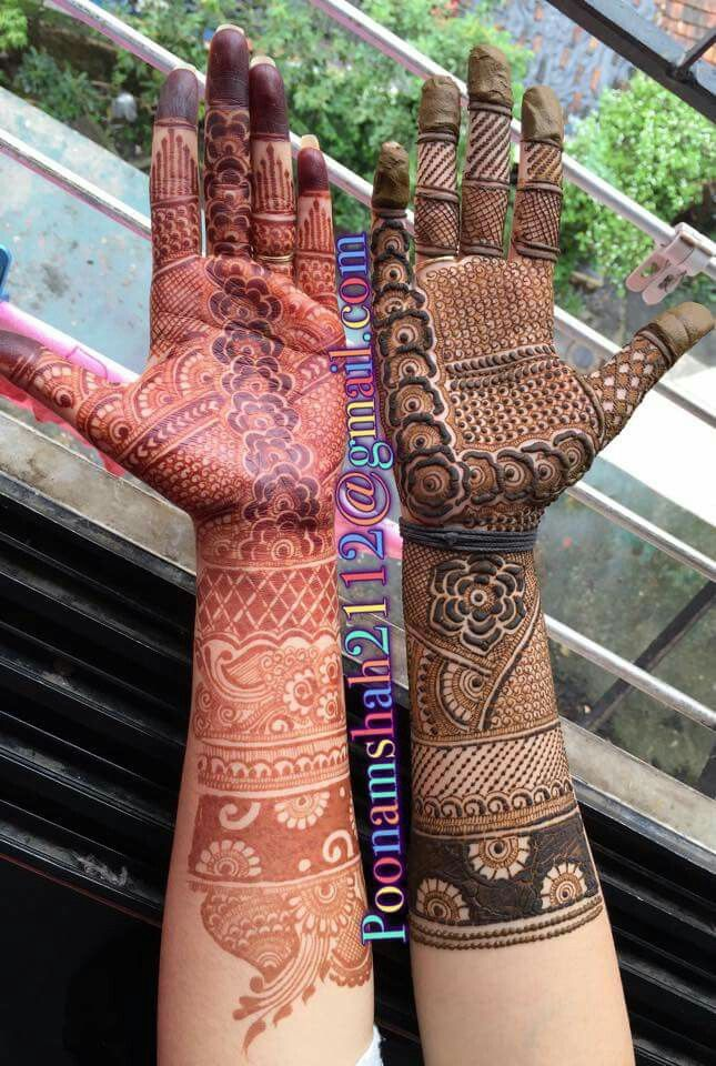 During and set #henna