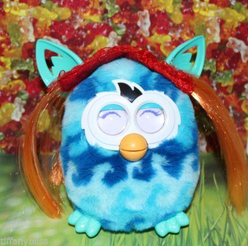 Annie Orange Wig Costume For Furby or Furby Boom OOAK