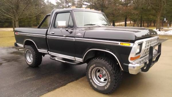 1978 Ford F150 Short Box 400 Auto No Rust Stored Winters