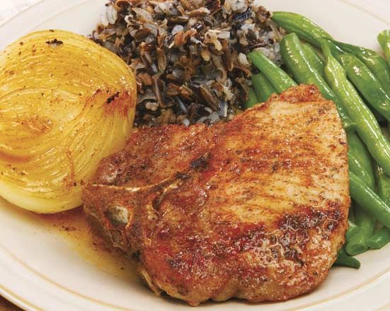 Glazed Pork Chops with Onions - Recipes at Penzeys Spices: 4 center ...