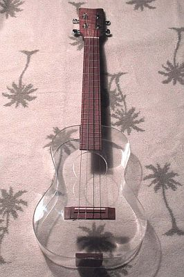 i know its not a guitar but... come on its a CLEAR UKULELE... no more needs to be said.......
