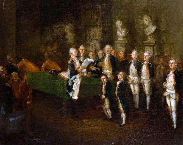 Prince Adam Kazimierz Czartoryski in Corps of Cadets (Warsaw)Jean-Pierre Norblin de La Gourdaine/Jan Piotr Norblin(*1745+1830) French-Polish painter Citizen of the Polish-Lithuanian Commonwealth (1793)_ Worked Paris (1762-71), London (1772-74), Spa (1773), Paris (1774), Puławy=Palace+Museum owned by Isabela Czartoryska_Lubomirsky) (1774-83), Warsaw (1778-80), Arkadia/Nieborów (1783-85, 1789-90), Warsaw (1785-04), Bronice (1801), Provins (1804-07), Paris (1807-30) #Prince Adam Kazimierz…