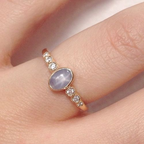 Star Sapphire Ring #IndyFacets