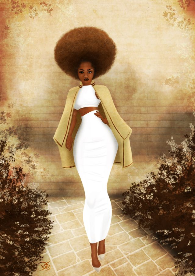 http://afrodesiacworldwide.tumblr.com/post/107383728198/fyblackwomenart-cream-with-my-coffee-by