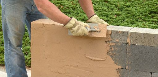 How to build  dry stack concrete block wall   Building a Wall with QUIKWALL | Danny Lipford