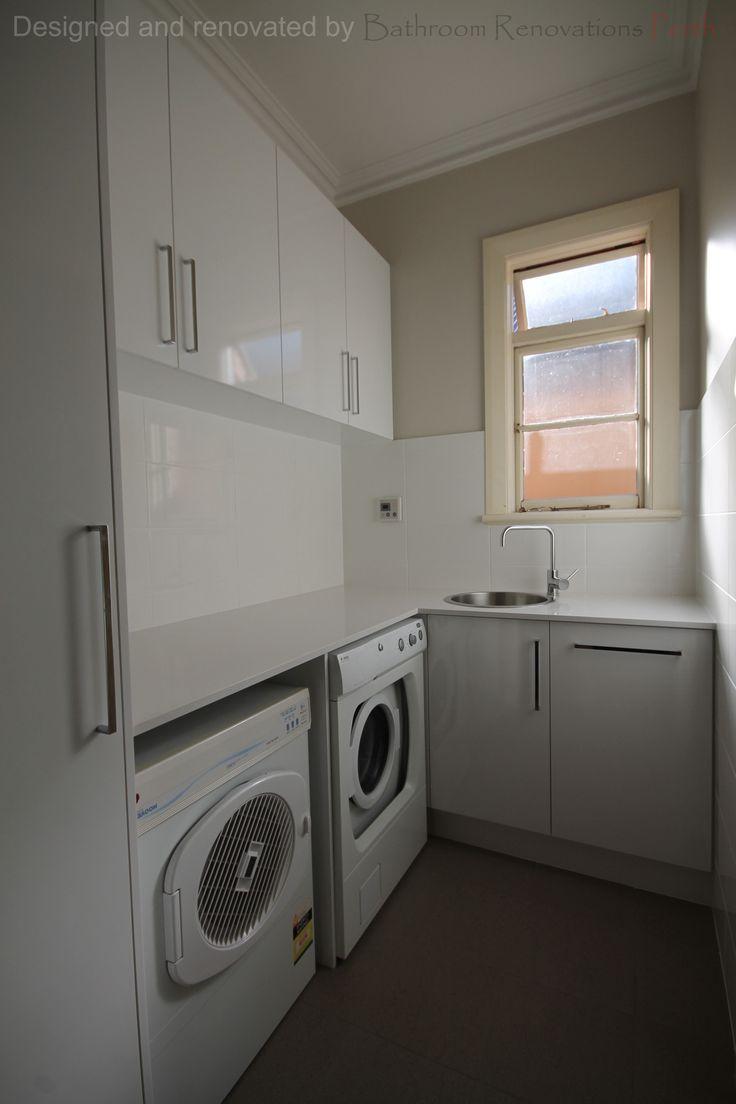 Brisbane laundry renovations laundry design ideas ine bathrooms - 2015 Inglewood Laundry Designed And Renovated By Bathroom Renovations Perth Www Bathroomrenovationsperth Com