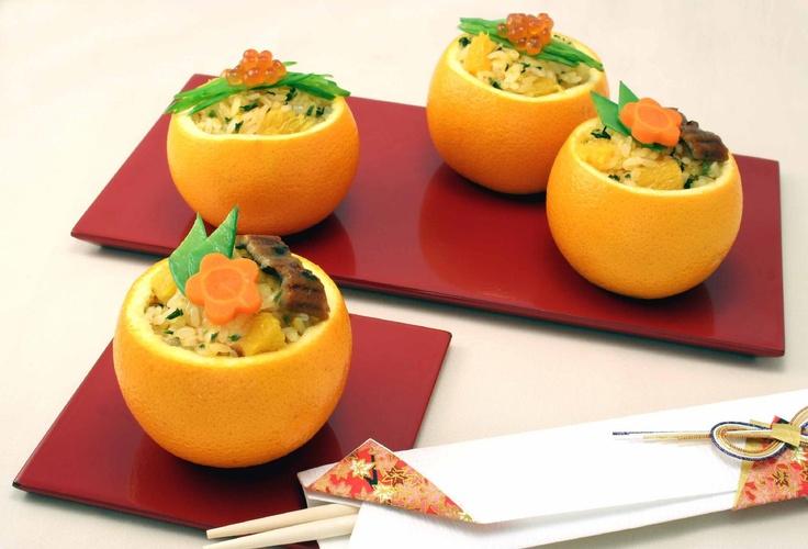 華やかオレンジご飯