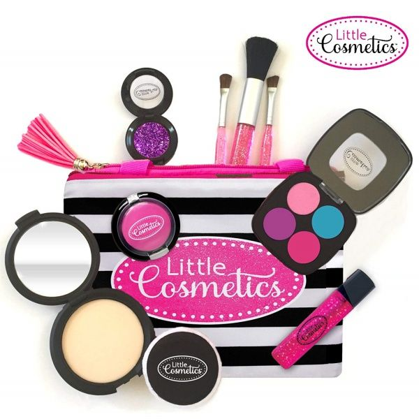 Little Cosmetics Pretend Makeup Signature Set Pretend Makeup Play Makeup Pretend Makeup For Toddlers