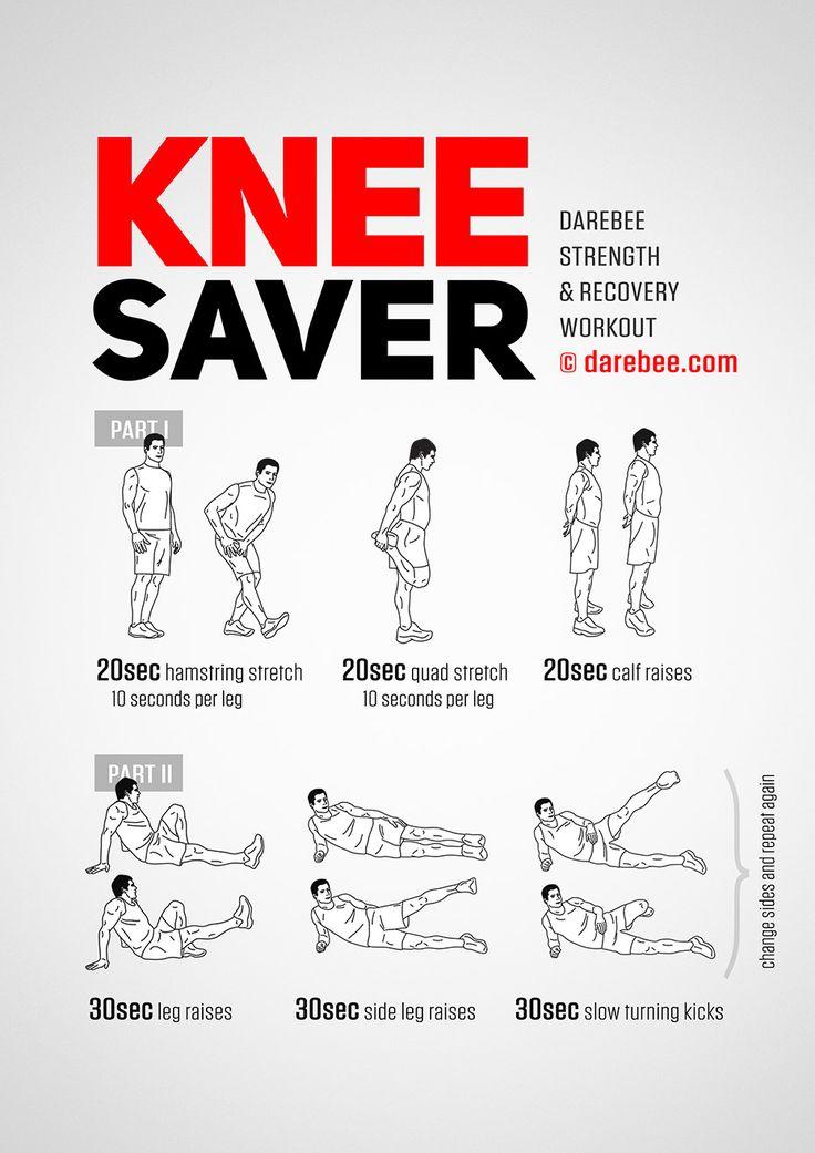 Knee Saver workout.