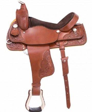 "Western Rawhide Drifter Saddle 16"""