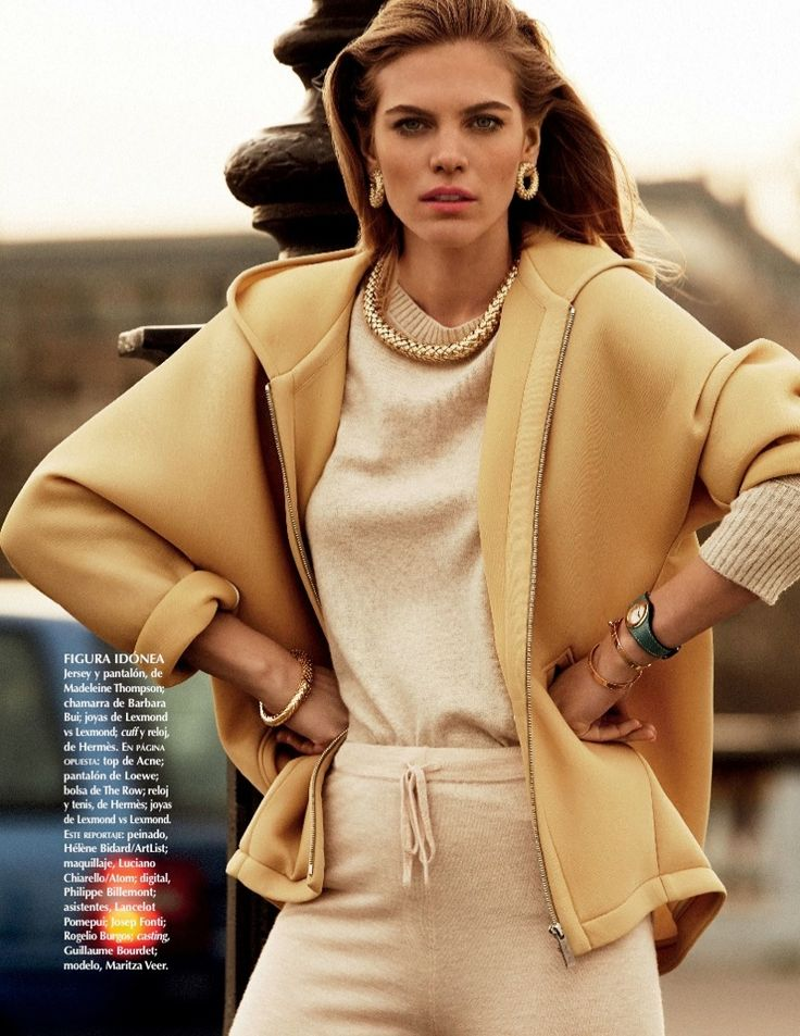 Maritza Veer takes on style of the 1990s in this new editorial for Vogue Mexico.