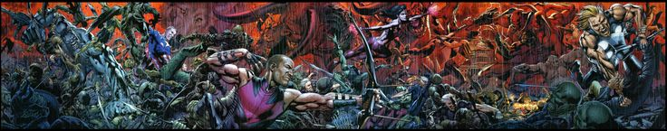 Images for : THE LIGHTBOX: Bryan Hitch Talks Storytelling, Writing for Himself & Disliking Drawing - Comic Book Resources