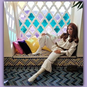 Photographer Patrick Lichfield 1970 of Talitha Getty