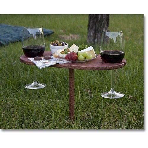 Et bien et bien support vin et amuses gueule le for Jardin winery