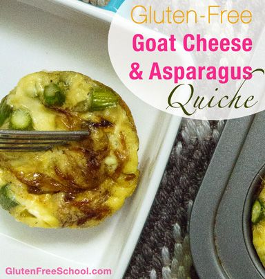 Ignite Your Gluten-Free Revolution GF Quiche Recipe, Eggs, sea salt ...
