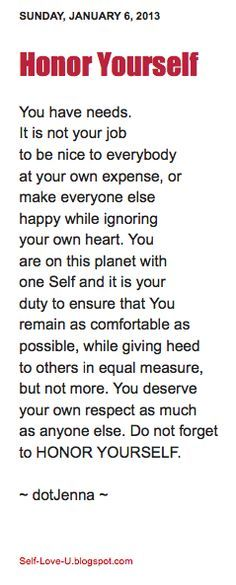Very well said. Healthy boundaries go hand in hand with love and kindness.
