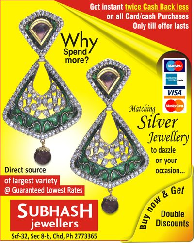 We, at Subhash Jewellers stands proud as No.1 silver superstore in the region,,,