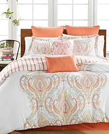 Jordanna Coral 8-Pc. Comforter Sets, Only at Macy's