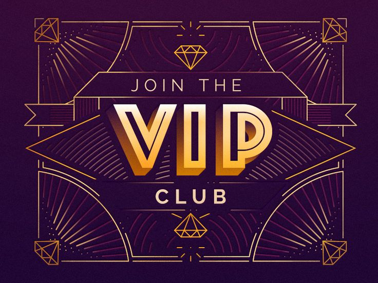 The VIP Club by Gabrielle #Design Popular #Dribbble #shots