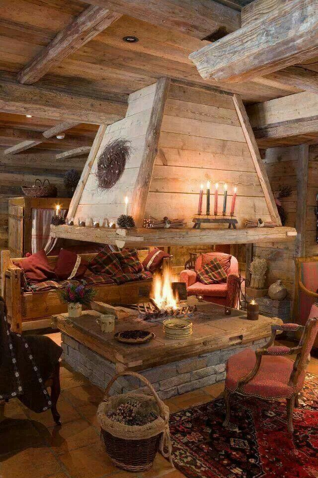 Cozy and pretty. Living off the grid.