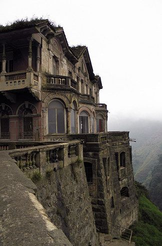 The Hotel del Salto in Central Columbia....Abandoned, due to contaminated water (among other things)