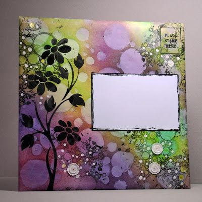 Eileen's Crafty Zone - lovely mail art sample by the fantastic Eileen Godwin