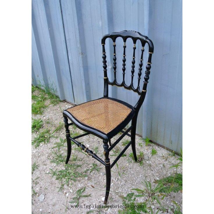 Les 25 meilleures id es de la cat gorie chaise cann e sur for Chaise bistrot cannee bois