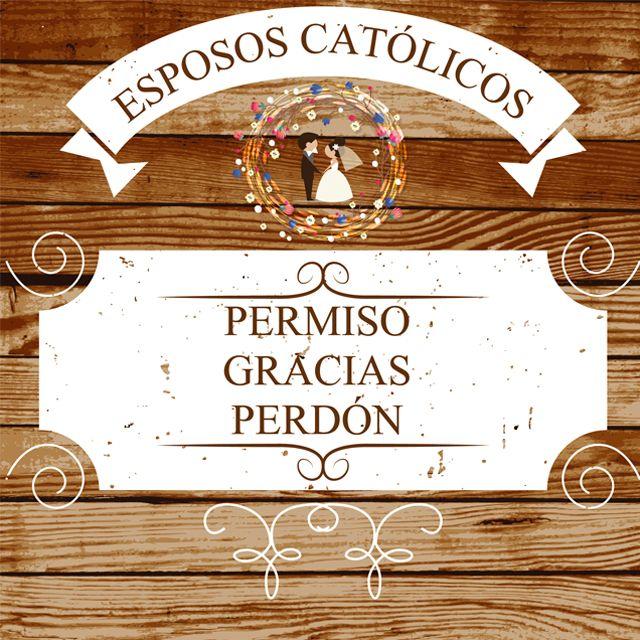 Estas 3 palabras el Papa Francisco las señala como funametales para la convivencia matrimonial. Siempre debemos tener en mente que el Sacramento del Matrimonio, es una escuela y au que ambos cónyugues tienen limitaciones, lomejor es llevar un espíritu de gratitud y respeto para con el otro, y acudir siempre a la reconciliación.    #espososcatolicos #blogger #blog #famly #faith #atletasdecristo #callejerosdelafe #love #catholic #papafrancisco #wedding #boda #catolicos