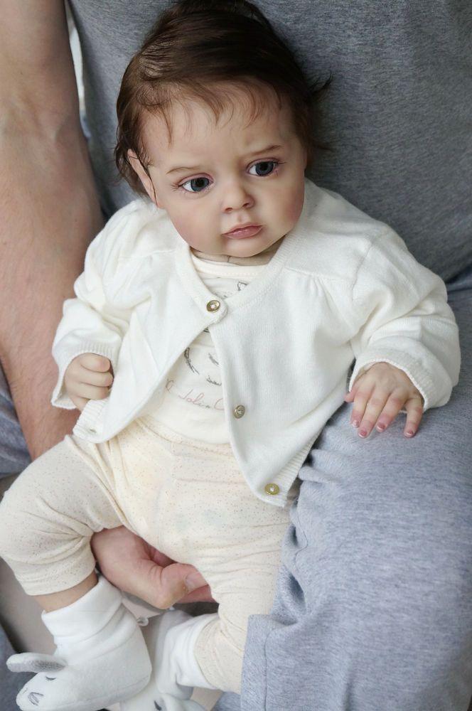 "Baby Chloe by Natali Blick,realborn.21.5"",Artist Tsybina Natalia ""Sweet bun"" #NataliBlick"