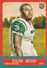 2014 Topps 1963 Mini #314 Tajh Boyd, New York Jets