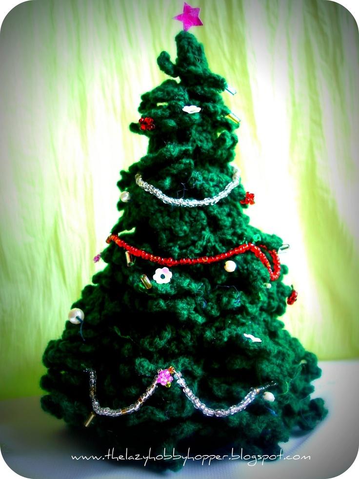 Crocheted Christmas Trees