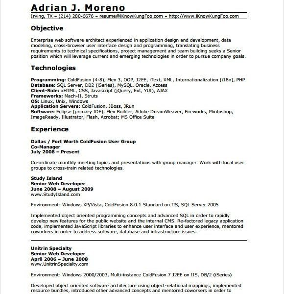 0 1 Year Experience Resume Format Resume Format Resume Resume Format Mechanical Engineer Resume