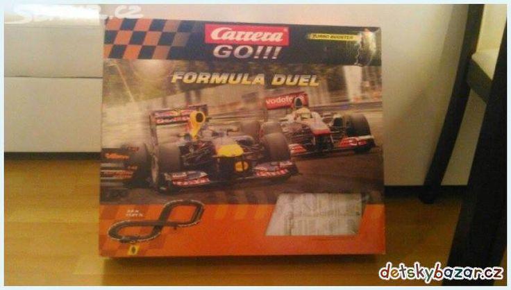 Autodráha Carrera GO!!! Formula Duel z bazaru