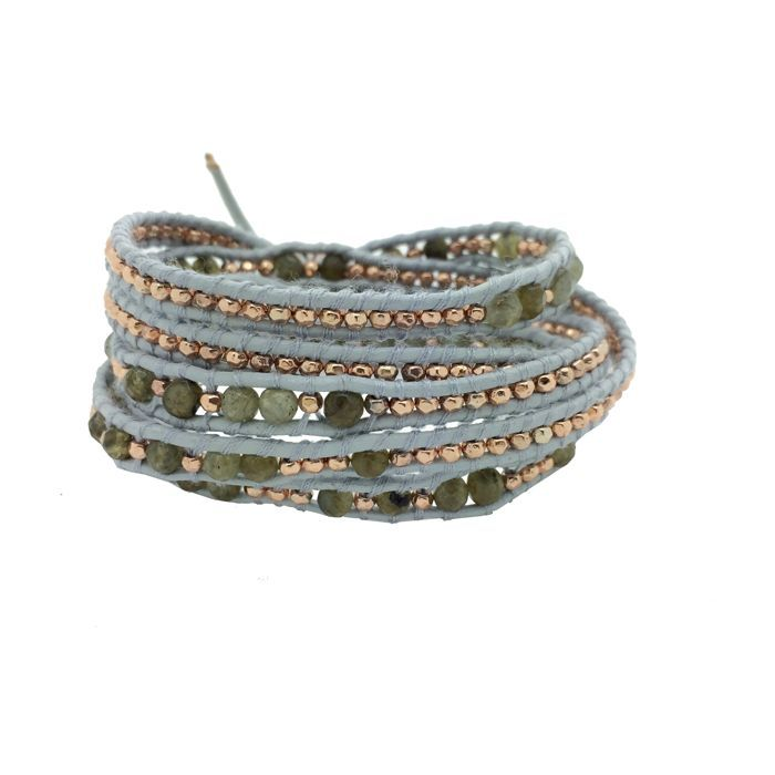 Under the Rose Mens Morse Code Wrap Bracelet - 38 cm a1kp1IGrnc