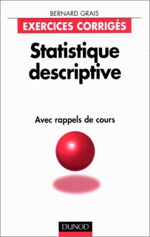 Télécharger Statistiques descriptives avec rappels de ...