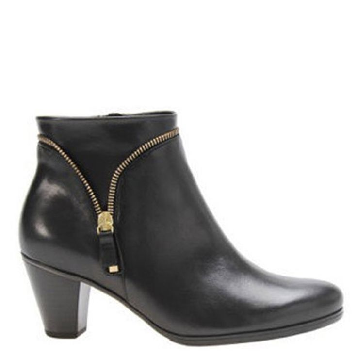 LINDEN by Gabor $295.00 #iansshoes #fabulous #boots #zip #fashion #instalove