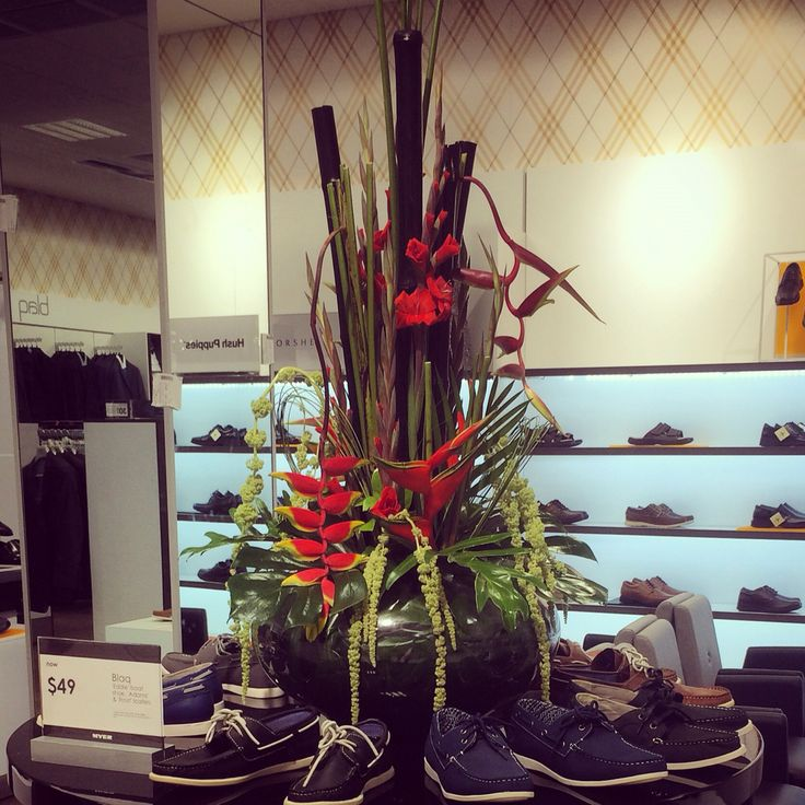 Myer opening install....tropical
